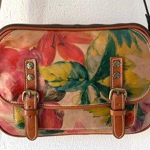 Patricia Nash Bags - Patricia Nash Multi Floral Crossbody Satchel Bag